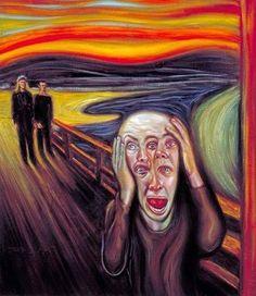 "'The Scream"" Parody"