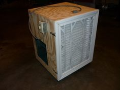 Air cleaner for my shop
