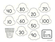 Sweet Treats Number Order - Math centers for common core: This sweet set is filled with great activities to help students master number order and skip counting by 10s and 5s. $