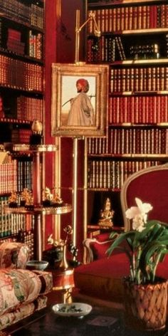 Perhaps one of the most famous rooms Mr. Hadley ever designed, for Brooke Astor.