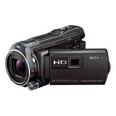 """Sony Handycam HDR-PJ810E - Videocámara de 6.1 Mp (pantalla de 3"""", zoom óptico 12x, estabilizador óptico, vídeo Full HD, WiFi y NFC), Negro Sony"""
