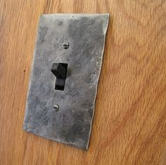 Hammer Textured Iron Single Switch/Toggle Switchplate