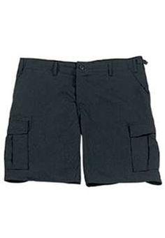 Black Rip Stop BDU Combat Shorts ! Buy Now at gorillasurplus.com