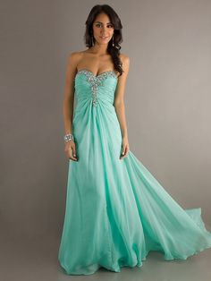 New Fresh Sweetheart Strapless Applique Open Back Prom Dress