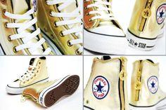 Converse Chuck Taylor AS Zipper Hi OX GOLD - SneakerNews.com 28aa45730524