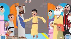 bible story images for kids - Google Search Bible Stories For Kids, Bible For Kids, Bible Illustrations, Christian Kids, Blog, Preschool, Clip Art, Inspiration, Nutrition