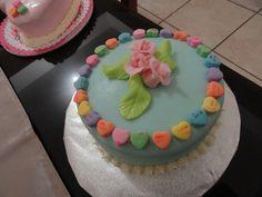 valentine cake, pastel de san valentin