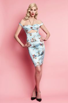 DR-S17D012-BCP - COCKTAILS AT EIGHT PENCIL DRESS