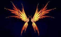 Commission: AngelHeartDreamer by Dornenspieler on DeviantArt Anime Weapons, Fantasy Weapons, Character Art, Character Design, Wings Drawing, Dark Wings, Pop Art Wallpaper, Wings Design, Phoenix Wings