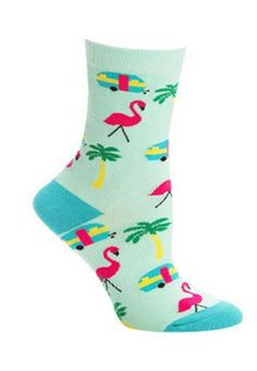 Honor Donald Featherstone with these funny crew socks inspired by Florida lawns. These awesome vegan socks are super cute and have vibrant pink flamingos! Crazy Socks, Cool Socks, Smart Women, Fit Women, Florida Woman, Sock Animals, Funny Socks, Novelty Socks, Pink Love
