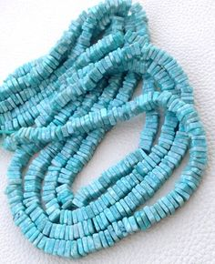 10 Strands Finesh Quality Turquoise Smooth Ball Beads~~~3.5mm~~~~12 Inches Long