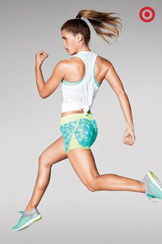 Running on a really warm day takes the right pairings of staying cool and styling cool. Three workout essentials you can't live without: The C9 Champion Feather Weight Tank, Power Smooth Bra, and Run Shorts.