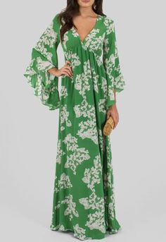 Modest Fashion, Boho Fashion, Fashion Dresses, Cute Dresses, Casual Dresses, Evening Dresses, Summer Dresses, Floral Print Maxi Dress, Dress With Cardigan