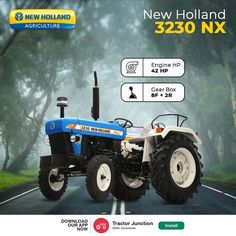 No. Of Cylinder 3 Engine HP 42 HP PTO HP 39 HP Gear Box 8 Forward + 2 reverse New Holland Agriculture, Tractor Price, New Holland Tractor, Tractors, Gears, Monster Trucks, Engineering, Box, Snare Drum