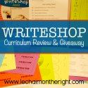 Review & Giveaway for WriteShop Junior by a veteran homeschooler — Grateful for Grace