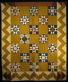 Ohio Star c. 1840... love the colors & the white just sparkles
