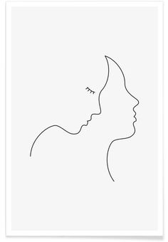 Hair Poster Hair as Premium Poster by Wuukasch Wire Art, Hair Poster, Minimalist Drawing, Simple Art, Abstract Line Art, Minimal Drawings, Canvas Art, Pencil Art Drawings, Minimalist Art
