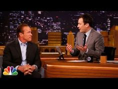 ▶ Arnold Schwarzenegger Takes Jimmy to Cigar School - YouTube