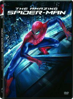 The Amazing Spiderman . 2012 DVD .