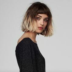 Modèle Asos aux cheveux cools