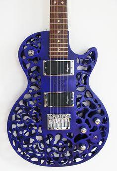 3D printed Atom guitar