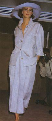 1984 Perry Ellis 80s Fashion, Fashion History, Vintage Fashion, Minimal Look, Johnston Murphy, Perry Ellis, Eggshell, Entourage, Designer Wear
