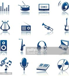 headphones with music notes clip art - Google Search