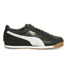 410ac0aa295 PUMA Roma distressed leather trainers.  puma  shoes  trainers