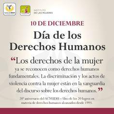 10/Dic. #DíadelosDDHH. Con el Día se conmemora el 65° aniversario de la aprobación de la Declaración Universal de #DDHH