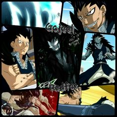 One of the original dragonslayers and a very great character of the show in general as well. Gajeel Redfox! Enjoy! (: Grid/Wallpaper.
