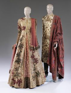 Sabyasachi bridalwear and groomswear, currently on display at the V&A in London for the #fabricofindia exhibition