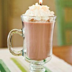 Hot cocoa candle!