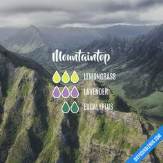 Mountaintop - Essential Oil Diffuser Blend
