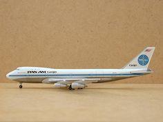 Gemini Jets GJPAA093 1:400 Scale Boeing 747-123F Pan American PanAm Cargo N901PA…