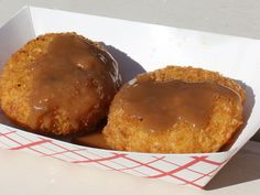 Fried Mashed Potato! -->Slide Show | Texas State Fair: 15 Crazy Fried Foods | Serious Eats