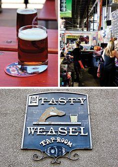 Longmont 100: Things to do in Longmont, Colorado: The Tasty Weasel Tap Room / Oskar Blues Brewery