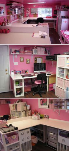 '{Organization} Pink Haven Scrapbook Room...!' (via Scrap this...and that!)