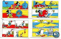 stories from Donald Duck bubblegums :)