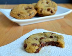 Fudge Stuffed Chocolate Chip Cookies. Tried it and it is Absolutely delicious!!