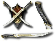 I found 'Legolas Knives' on Wish, check it out!