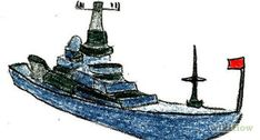 How to Draw an Anchor: 8 Steps (with Pictures) - wikiHow Basic Shapes, Simple Shapes, Anchor Sketch, Sea Plants, Canoe And Kayak, Navy Ships, Wooden Boats, Water Crafts, Learn To Draw