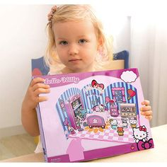 6c86c89dc Amazon.com: Hello Kitty 3D Scene Puzzle - The Bedroom of The Home, Suitable  for 4-8 Years Old Children, Art Puzzle Girls Toy Gifts 11.2'Lx8.2' Wx0.6 H:  Toys ...