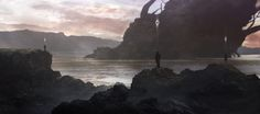 The Arrival, Y - mir on ArtStation at https://www.artstation.com/artwork/aZeJq