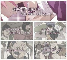 What Natsu says while beating up a gang that hurt Fairy Tail while they were gone for 7 years.