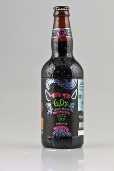 Cerveja Wensky Beer Lobisomem, estilo American Stout, produzida por Wensky Beer, Brasil. 6% ABV de álcool.