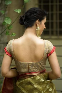 Buy Designer Blouses online, Custom Design Blouses, Ready Made Blouses, Saree Blouse patterns at our online shop House of Blouse from India. Brocade Blouse Designs, New Saree Blouse Designs, Best Blouse Designs, Simple Blouse Designs, Stylish Blouse Design, Designer Blouse Patterns, Bridal Blouse Designs, Blouse Styles, Designs For Dresses