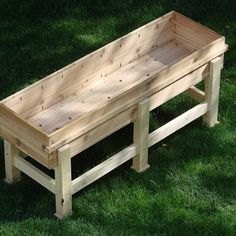 Waist High Planter Box...adaptable to a growbed?
