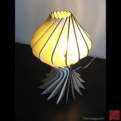 Alienology     Lighting     Bloom Lamps by Alienology , via Behance