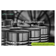 This Valuation Model templates provides a framework to forecast the cash flows of a can food manufacturing company and derives its Discounted Cash Flow (DCF) value. Go check our website for more information. Food Manufacturing, Venison, Smoked Salmon, Health And Nutrition, Grain Free, Canning, Flow, Tableware, Templates