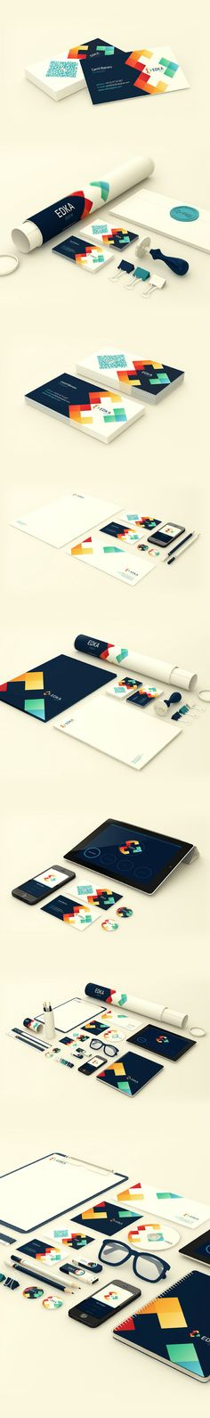 Unique Branding Design, Edka Digital #Branding #Design (http://www.pinterest.com/aldenchong/)